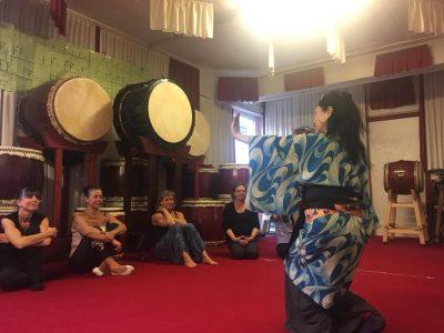 taiko masterclass araumi daiko