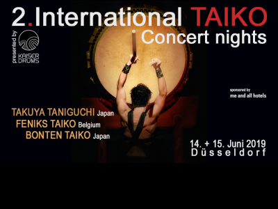 International Taiko Concert Nights 2019 Dusseldorf