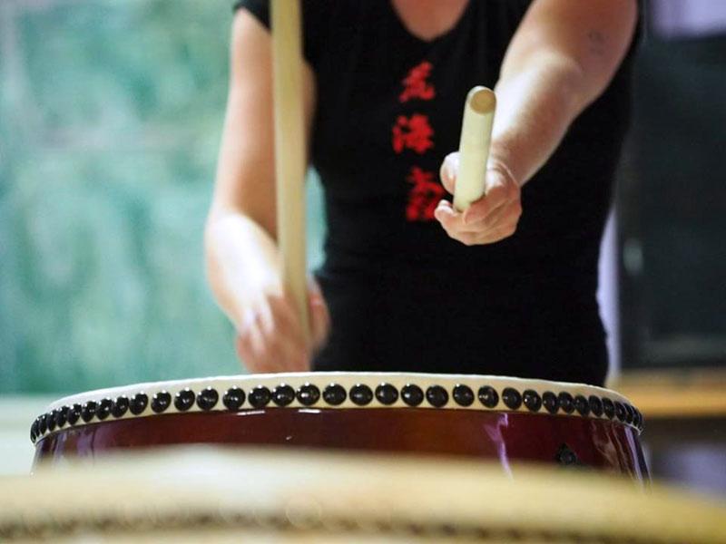 Araumi Daiko Academie, taiko, les, leren, spelen