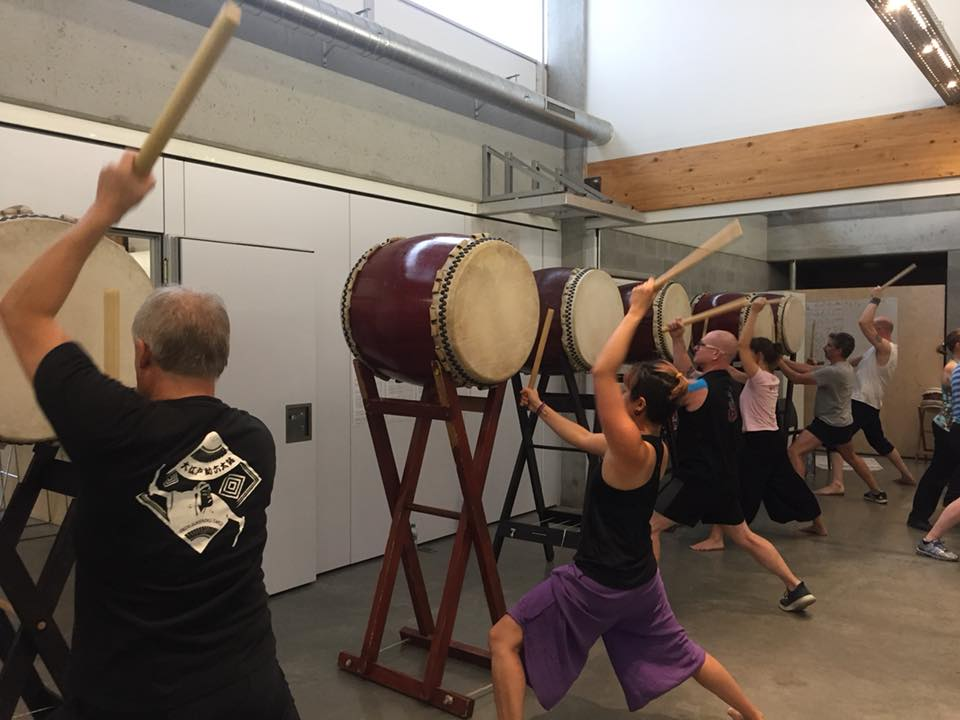 2018 Taiko Bootcamp Antwerpen Grete Moortgat