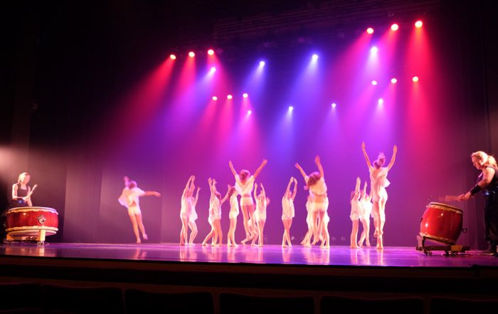 Kokoro dans taiko, Feniks, Ikezuki, Araumi Daiko