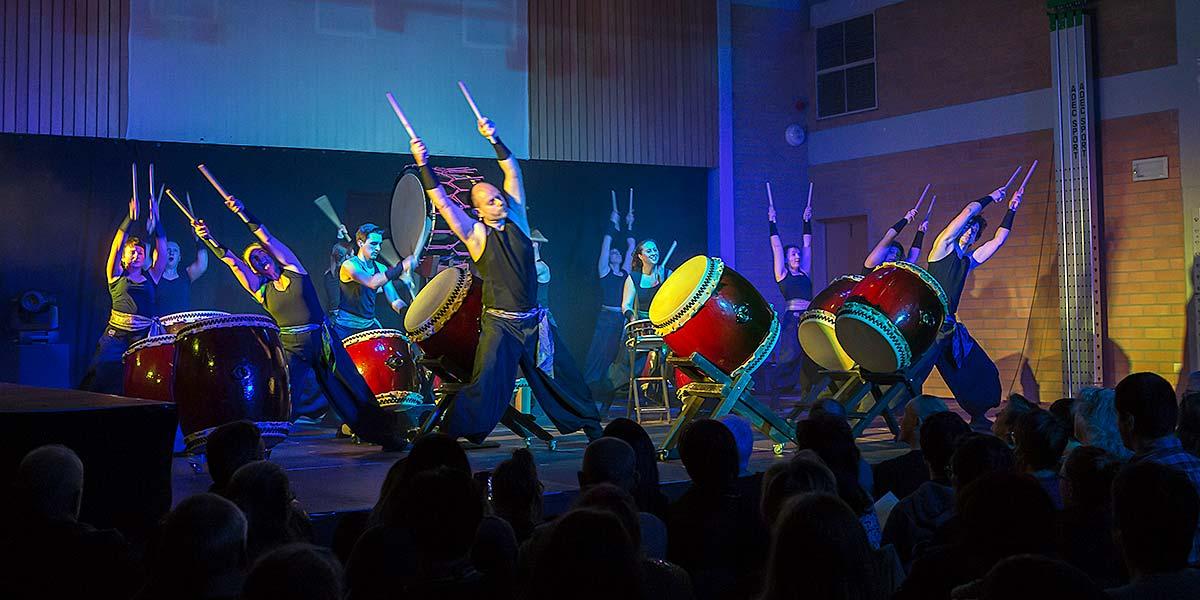 Feniks Taiko concert Laakdal