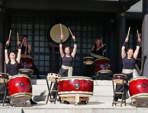 EKO Haus optreden Feniks Taiko