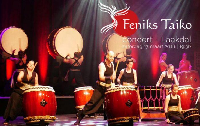 Feniks Taiko concert Laakdal, vzw LInk