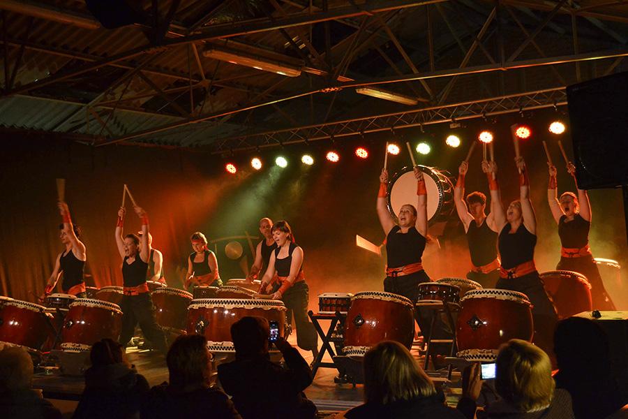 Feniks Taiko concert Drumteam 2018